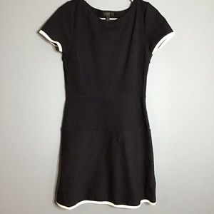 J. crew side zip shirt sleeve dress size 4